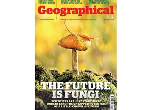 Geographical Magazine - 3 issues for £1.00
