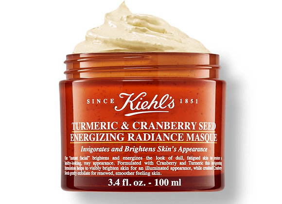 Free Kiehl's Turmeric & Cranberry Seed Face Masque