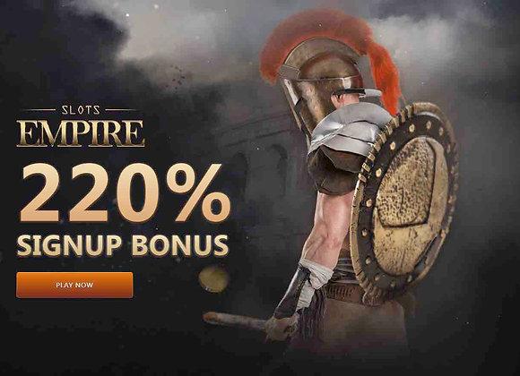 Slots Empire - 220% Slots Bonus
