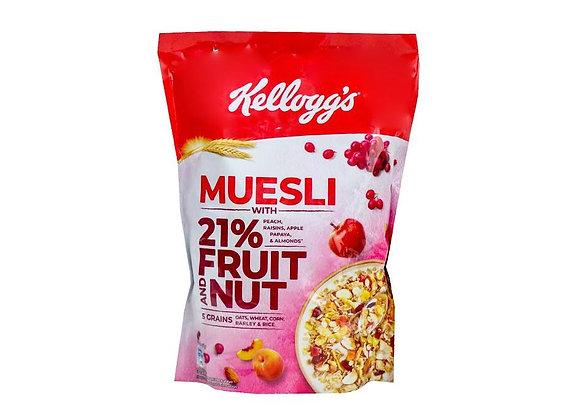 Free Kellogg's Muesli Fruit and Nut