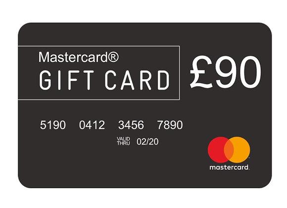 Free £90 Mastercard®