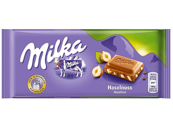 Free Milka Whole Hazelnut Chocolate