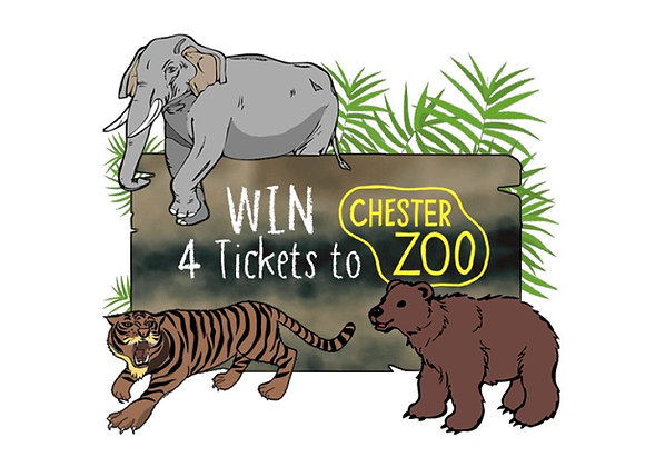 Free Chester Zoo Tickets