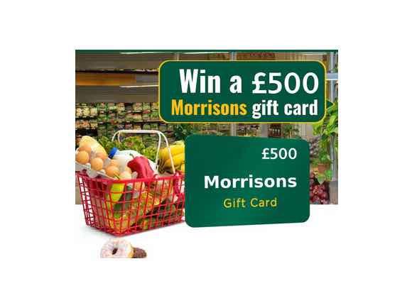 Win A £500 Morrisons Voucher