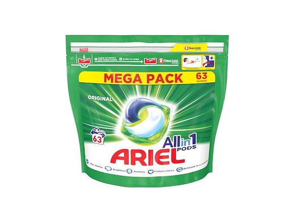 Free Ariel Washing Pods