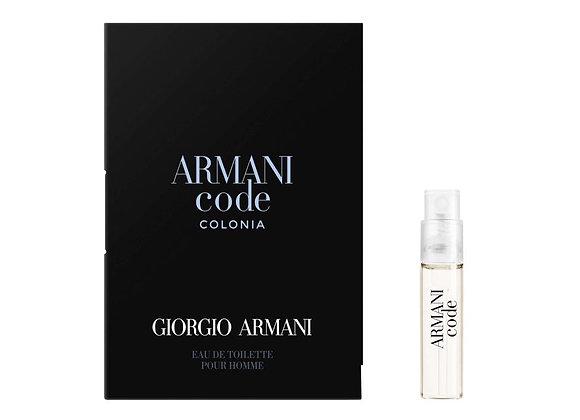 Free Giorgio Armani Code
