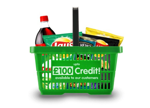 £100 Supermarket Credit