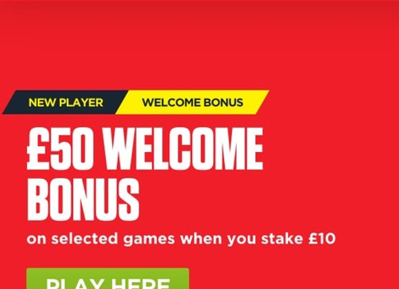 Free £50 Bonus When You Bet £10