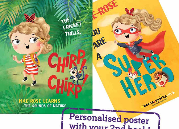 Free Personalised Kids Book & Poster