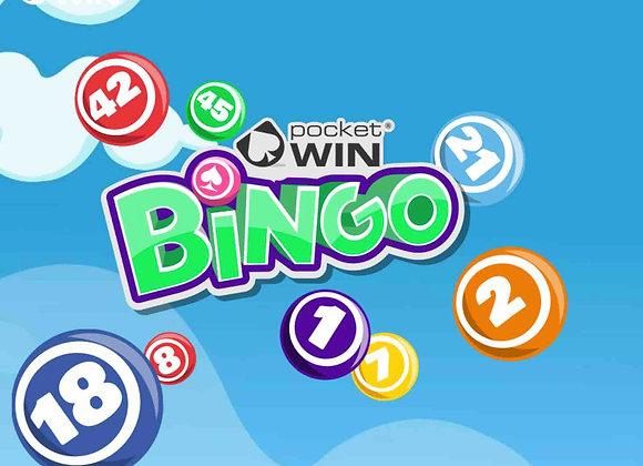 Pocket Win Bingo - £10 Bonus