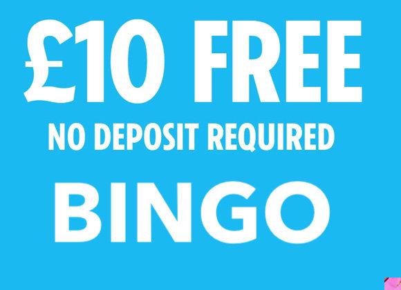 Bingo £10 Free (No Deposit Required)