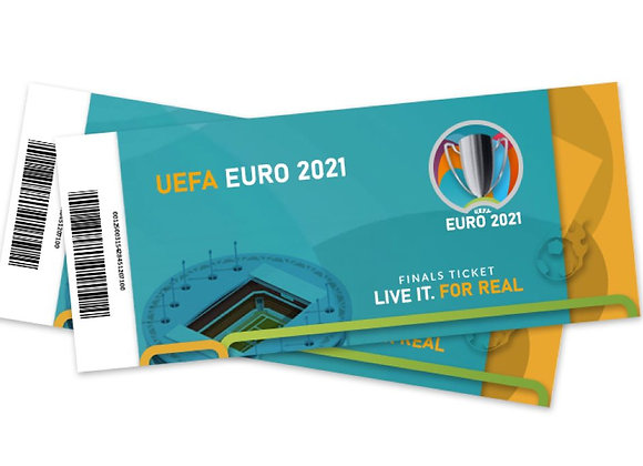 Free Tickets - Euro 2021 Final Wembley