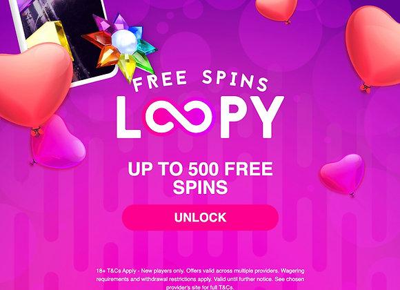 Free 500 Spins (No Deposit Required)