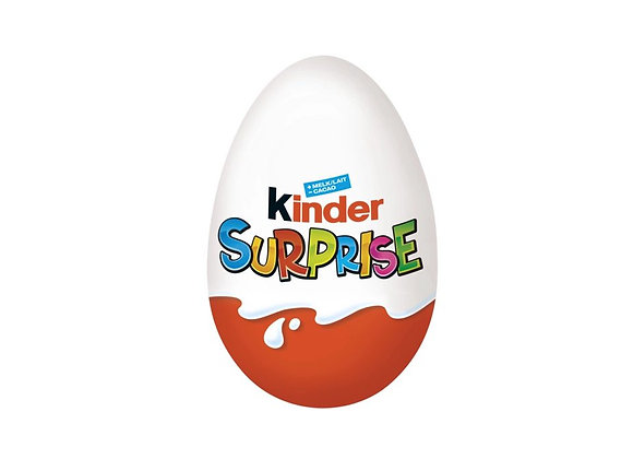 Free Kinder Surprise Egg