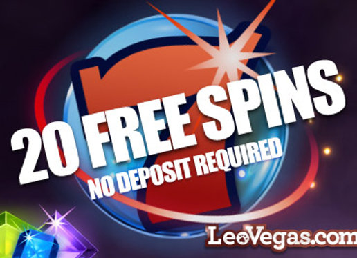 Leo Vegas - 20 Free Spins, No Deposit