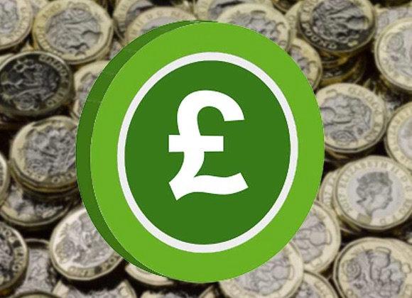 Free £1 Bonus