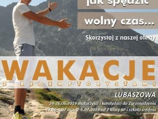 UWAGA - Wakacje!!!