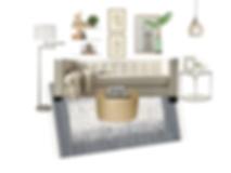 e-design virtual interior design set the stage