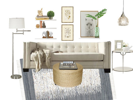 West Elm Design On A Walmart Budget