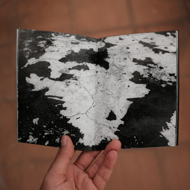 existence / photozine Existence  Photos&Edits: Okan Pulat / Fail Books  Indigo Print, 12 x16 cm Istanbul, October 2017  90 Copies.  16 different photozines produced by 16 artists have been published in the same format under the collaboration of FAİL Books.