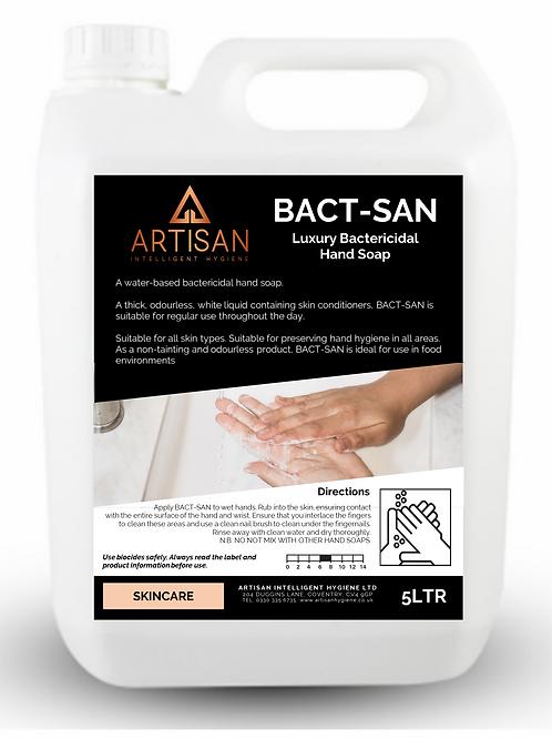 BACT-SAN LUXURY BACTERICIDAL HAND SOAP - 5LTR