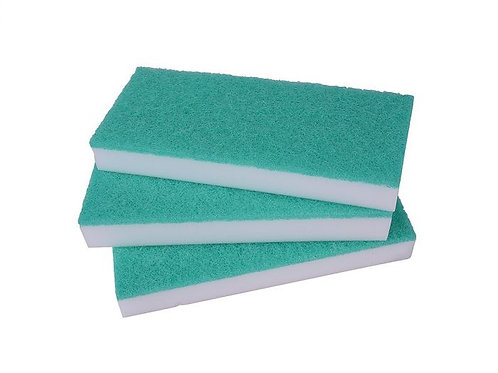 MAGIC ERASE-ALL FLOOR PAD - 23x3x10cm WHITE. PACK/5.