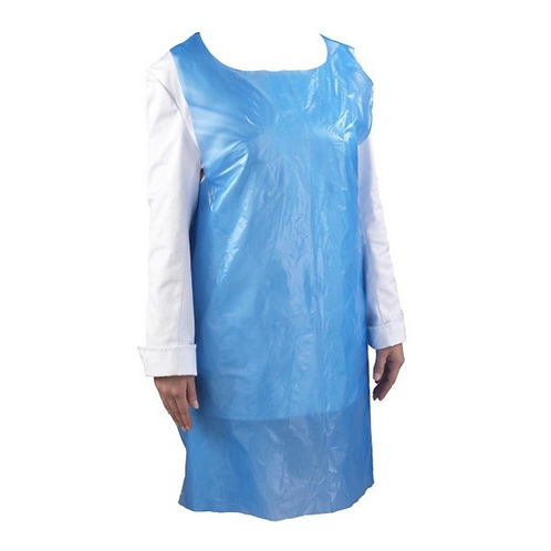DISPOSABLE APRONS - BLUE