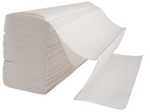 HAND TOWELS Z-FOLD 2 PLY WHITE - CASE/3000