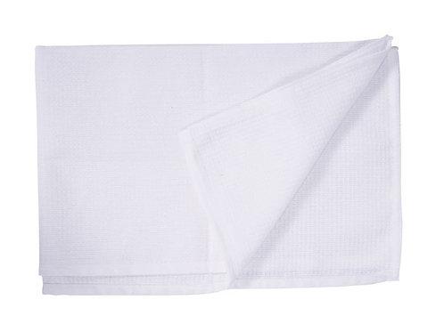 HONEYCOMB WAITERS CLOTH - 50x76cm WHITE. PACK/10.