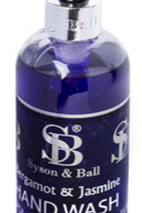 SB LUXURY HANDWASH - BERGAMOT & JASMINE. 500ml. CASE/6.