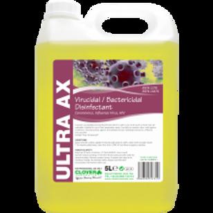 AX ULTRA VIRUCIDAL/BACTERICIDAL DISINFECTANT - 5LTR