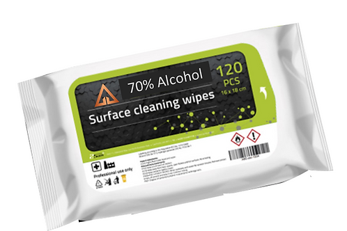 70% ALCOHOL ANTIBACTERIAL SURFACE WIPES