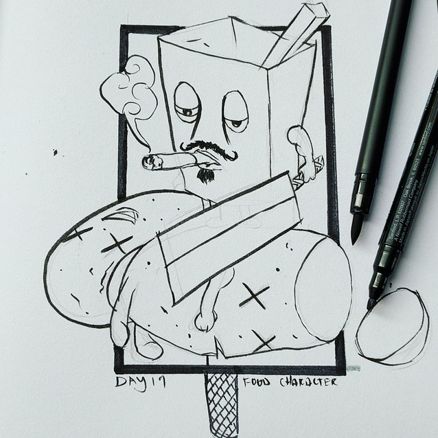 Day 19 - Food Character