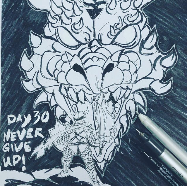 Day 30 - Never Give Up!