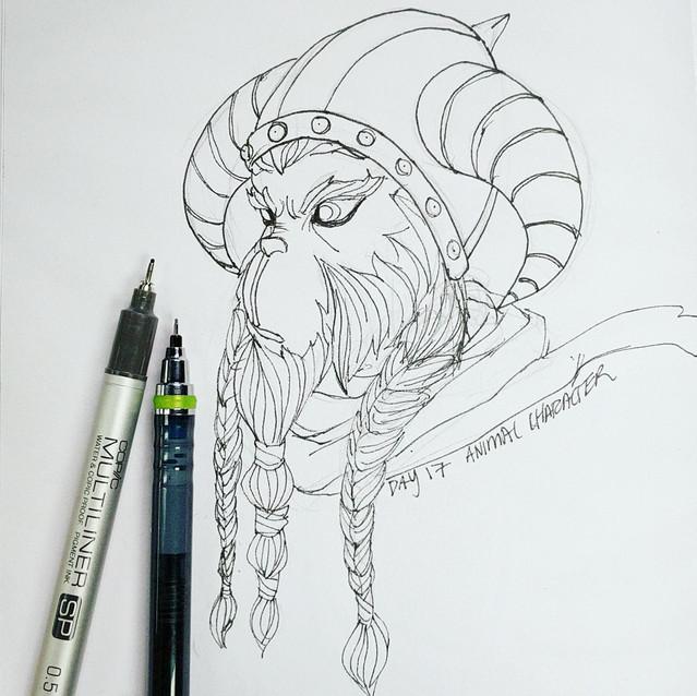 Day 18 - Animal Character -
