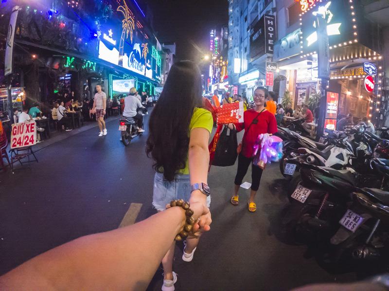 Vietnam-Saigon-At-Night