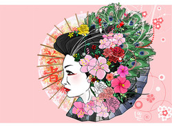 Geisha Headdress