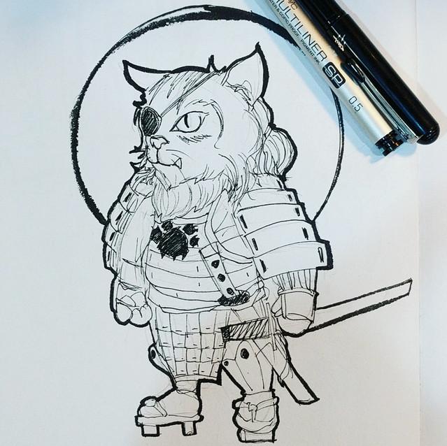 Day 11 - Warrior Cat