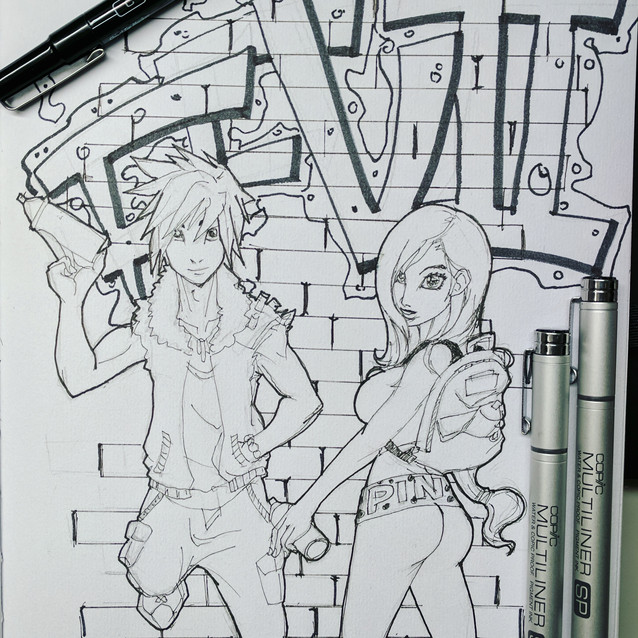 Day 8 - Gamer Character(s) in modern setting