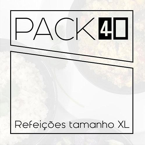Pack 40 XL - 40 refeições 450g