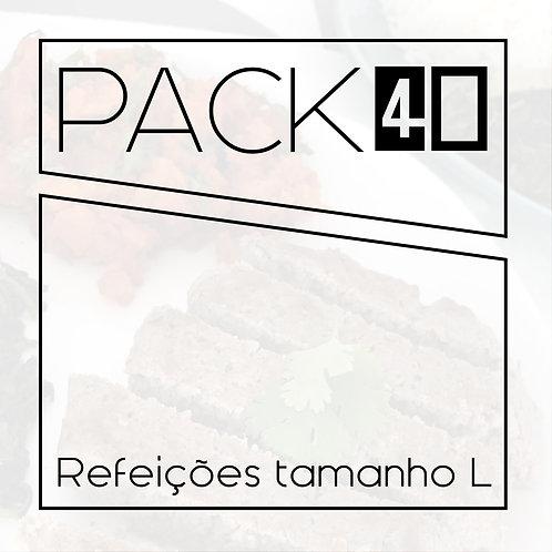 Pack 40 L - 40 refeições 350g