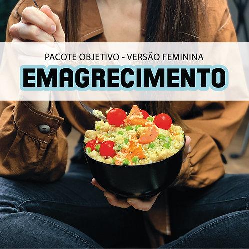 Emagrecimento feminino - 5 refeições | 5 saladas ou sopas