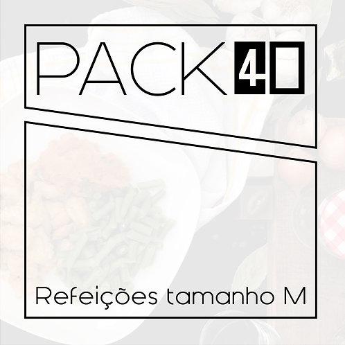 Pack 40 M - 40 refeições 250g