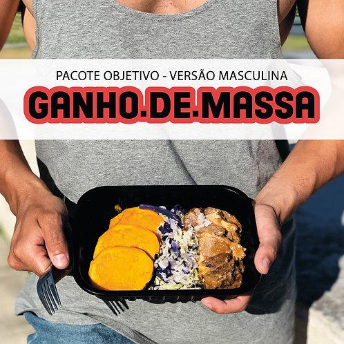 Male Gain Mass - 10 meals 350g each