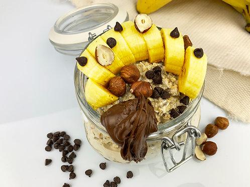 Overnight Oats - Banana nutella