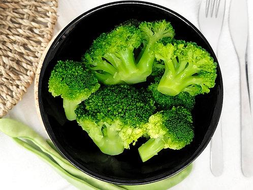 Brócolos cozidos