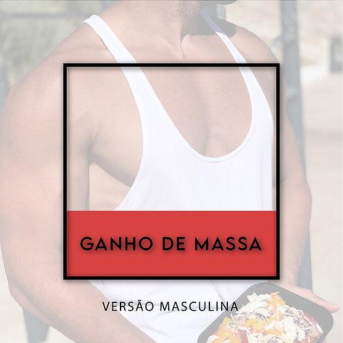 Ganho de Massa Masculino - 10 refeições L