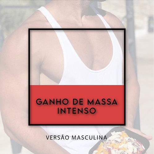 Ganho de Massa Intenso Masculino - 15 refeições L + 5 wraps