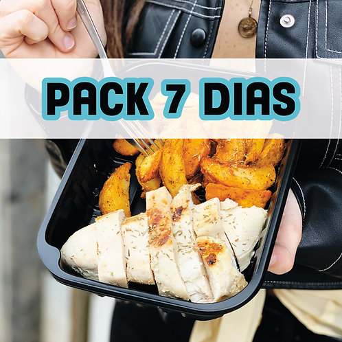 PACK STAY HOME - 7 FULL DAYS EATING HEALTHY