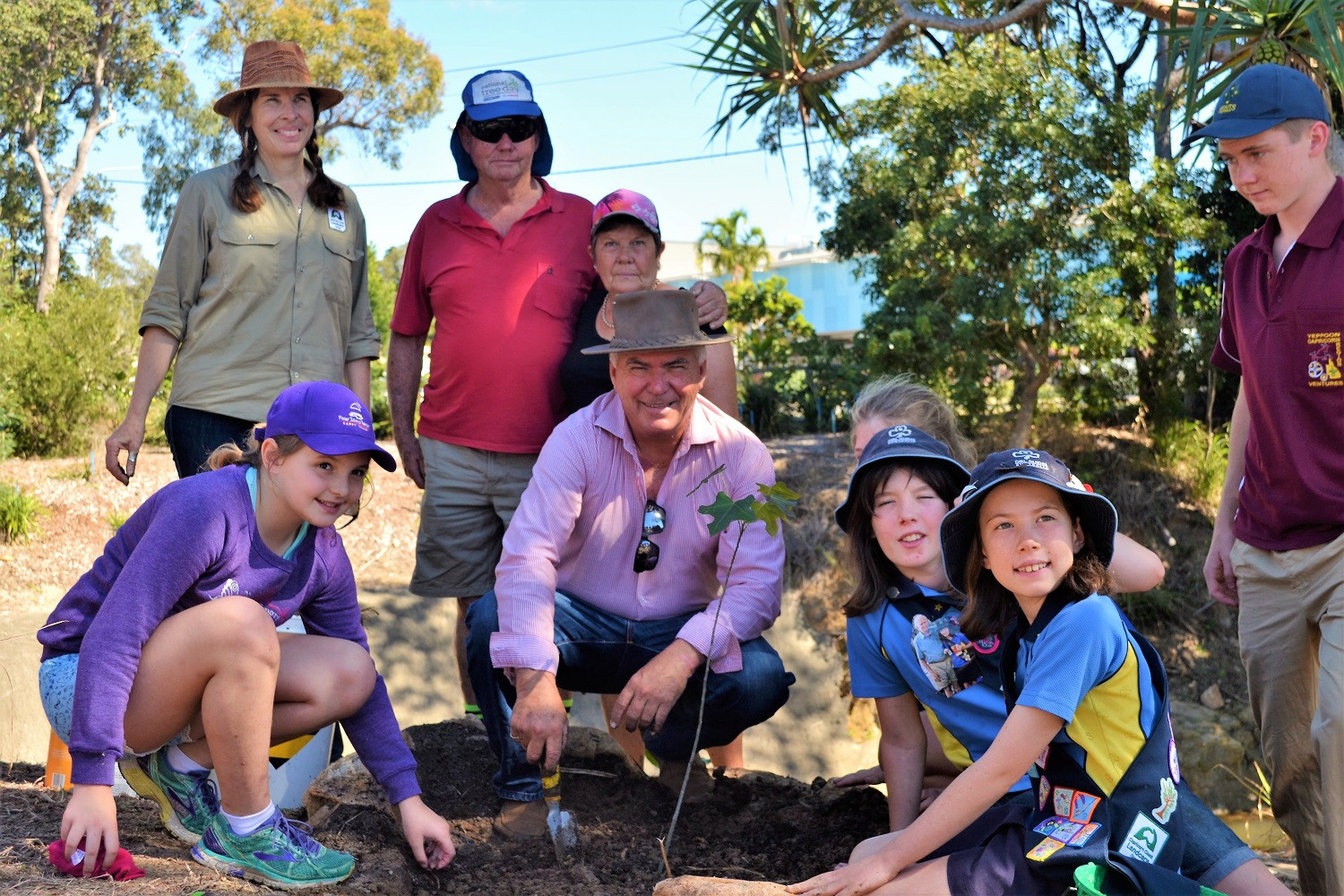 National Tree Day & Alby's Memorial Picnic & Planting Day